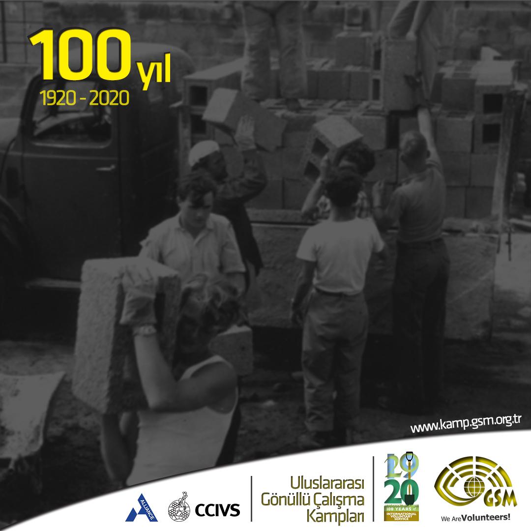 2020: Gönüllü Kampların 100. YILI!