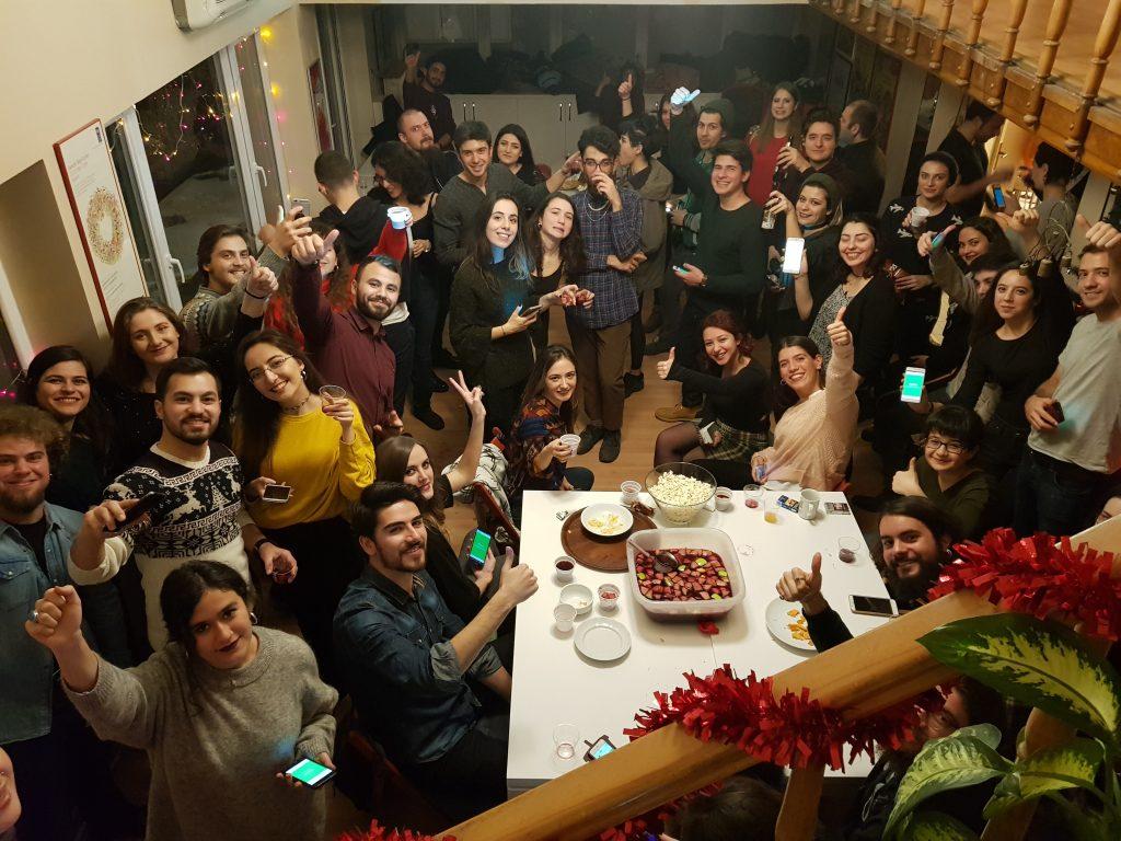 Bye Bye 2017 Party (Gelemeyenlere Nispet İçerir)