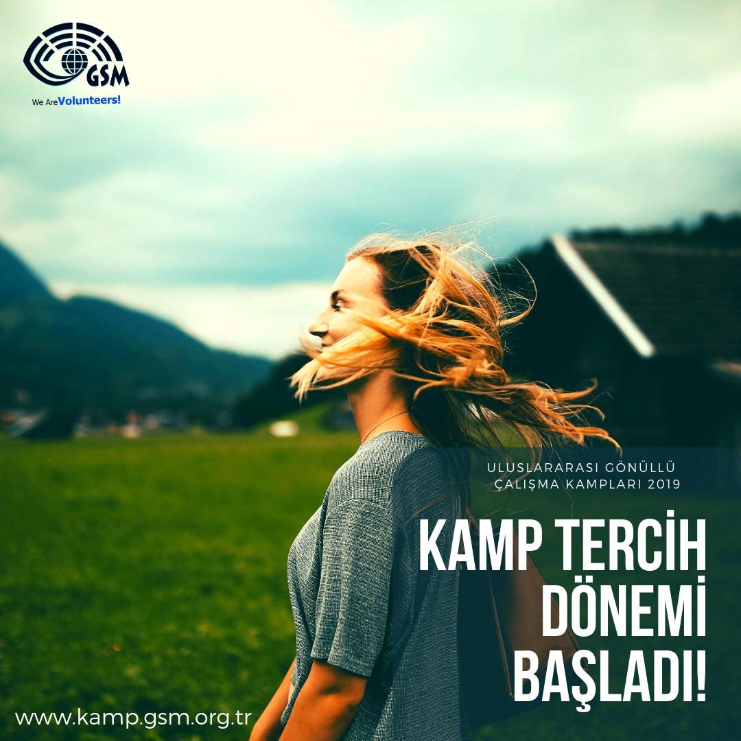 2019 KAMP TERCİH DÖNEMİ BAŞLADI!